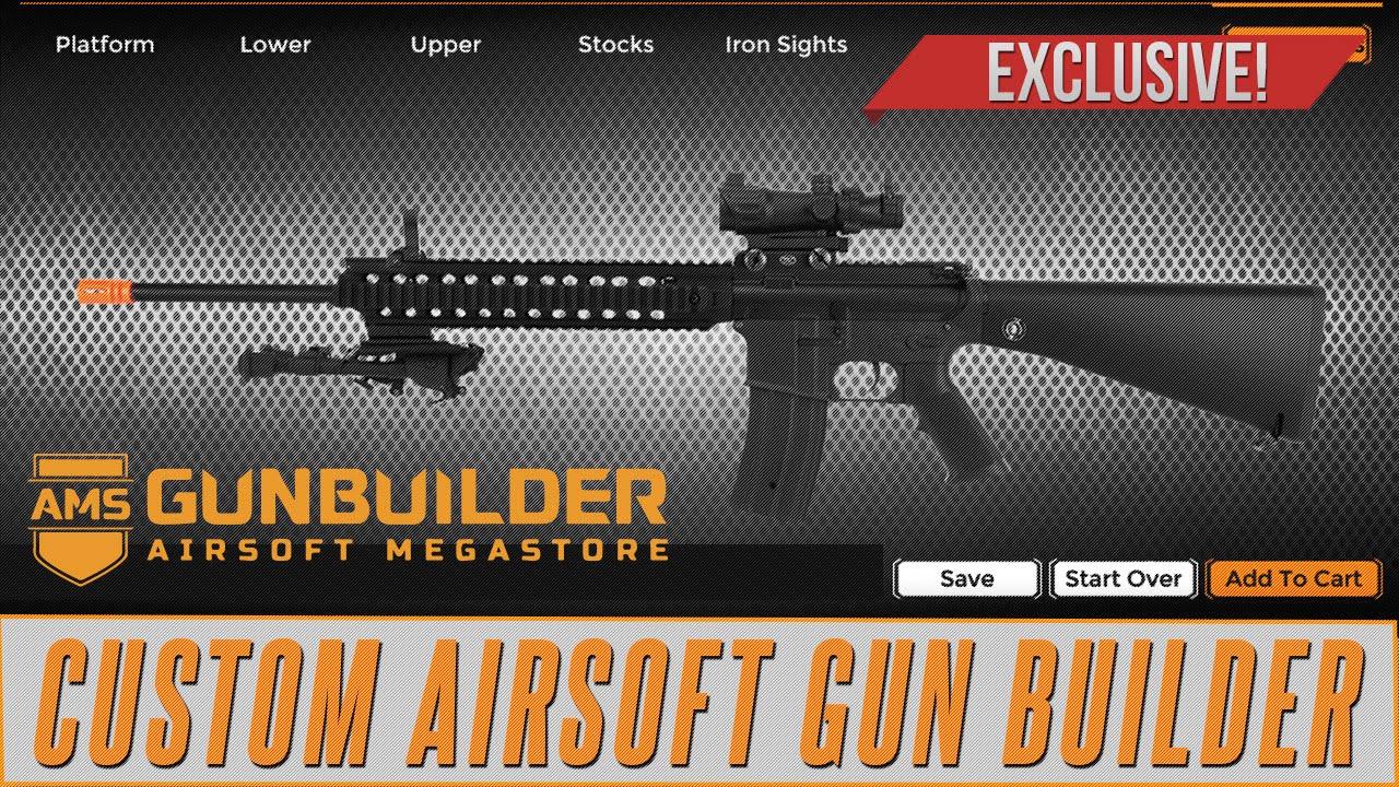 custom airsoft gun builder