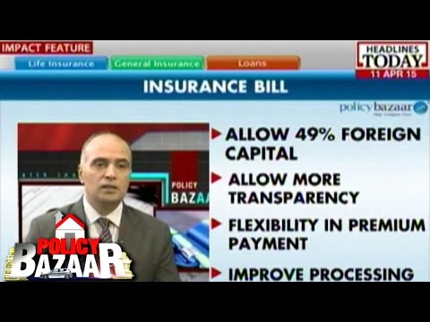 Policy Bazaar: Insurance Law Amendment Bill