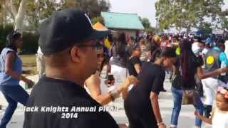 Black Knightz Mc Annual Picnic 2014 Features Buffalo Soldier, 4 House Man, Second II None