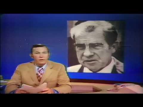 KNXT-2 1973 The Big News Lon Chaney Jr Death Roger Mudd