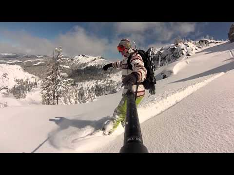 Snowboard Kirkwood CA April 8th 2015