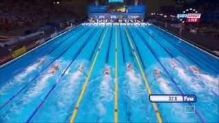 Swimming 15 th FINA World Championships Barcelona 2013 Day 4 Semis/Finals