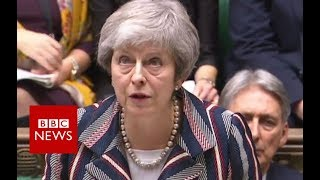 Brexit: Theresa May updates MPs on draft deal - BBC News