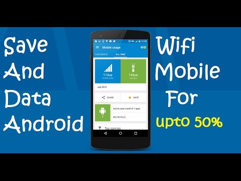 How To Save Mobile Or Wifi Internet Data For Android 100 Working Method Youtube