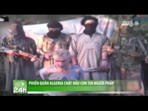 VTC14_Phiến Quân Algeria Chặt đầu Con Tin Người Pháp