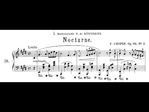 Chopin: Nocturne Op.62 No.2 in E Major (Moravec)