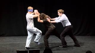 Blindfolded kung fu: Ross Sargent at TEDxGranta