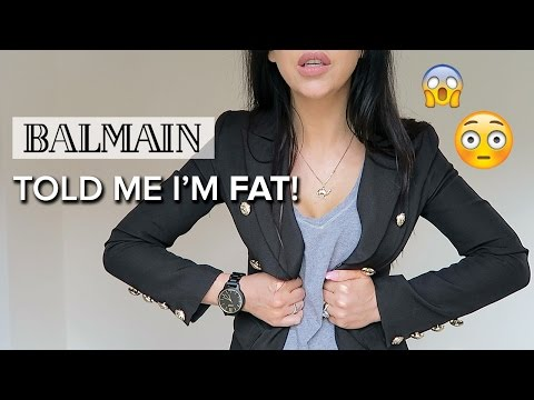 MY STORY | Balmain Staff Told Me I'm FAT