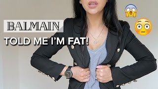 One of Sophie Shohet | Fashion Beauty Lifestyle's most viewed videos: MY STORY | Balmain Staff Told Me I'm FAT