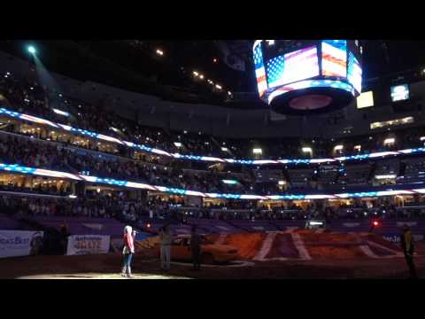Kendall Pasley - National Anthem - FedEx Forum 2/18/2017