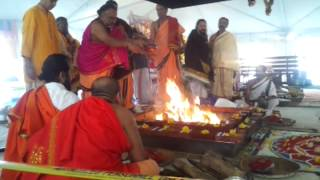 chandi homam at durga temple virginia