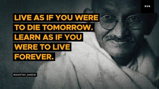 Sales motivation quote: Live as if you were to die tomorrow...