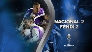 Nacional vs. Fénix [2-2] | GOLES | Primera fase (Vuelta) | Sudamericana 2020