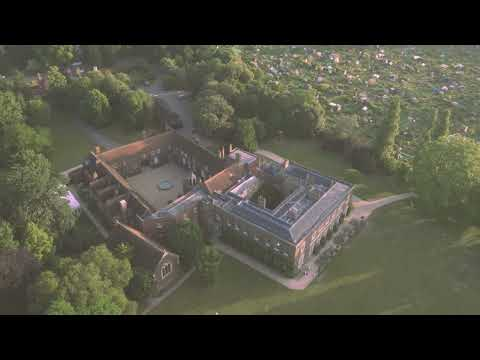 Fulham Palace from the air