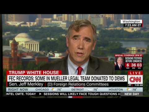 Jeff Merkley: Prosecutors Donating Only to Democrats Doesn't Show Bias