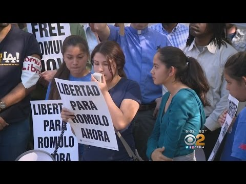 Dozens Rally Against Deporting Illegal Immigrant Father