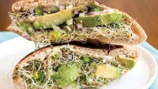 3 быстрых полезных бутербродов. Рецепты на завтрак.