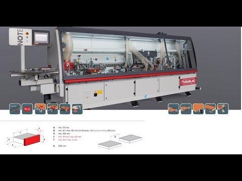 Tư vấn máy dán cạnh tự động qua video | Turanlar T-EB 601 N ☘️☘️🇨🇭🇨🇭