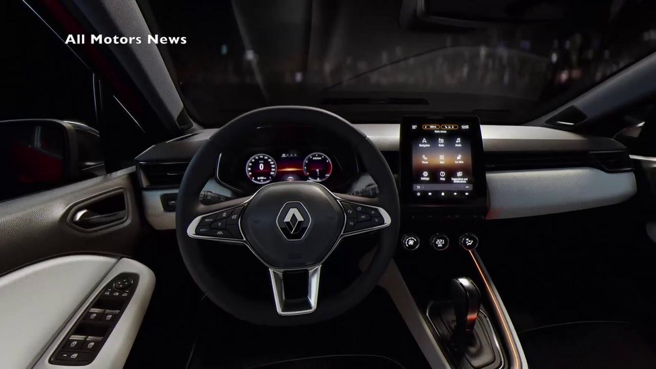 Renault Clio 5 Interior Geneva 2019 New Generation Icon