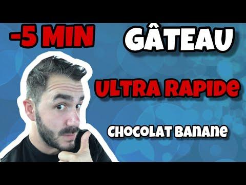 gâteau-au-chocolat-banane-micro-onde-ultra-rapide-(-idéal-pour-les-enfants)