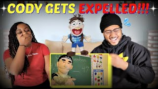 "SML Movie ""Cody Gets Expelled!"" REACTION!!!"