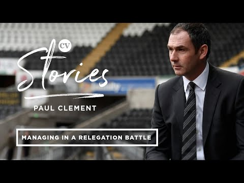 Reading FC manager Paul Clement recalls his early days at Swansea