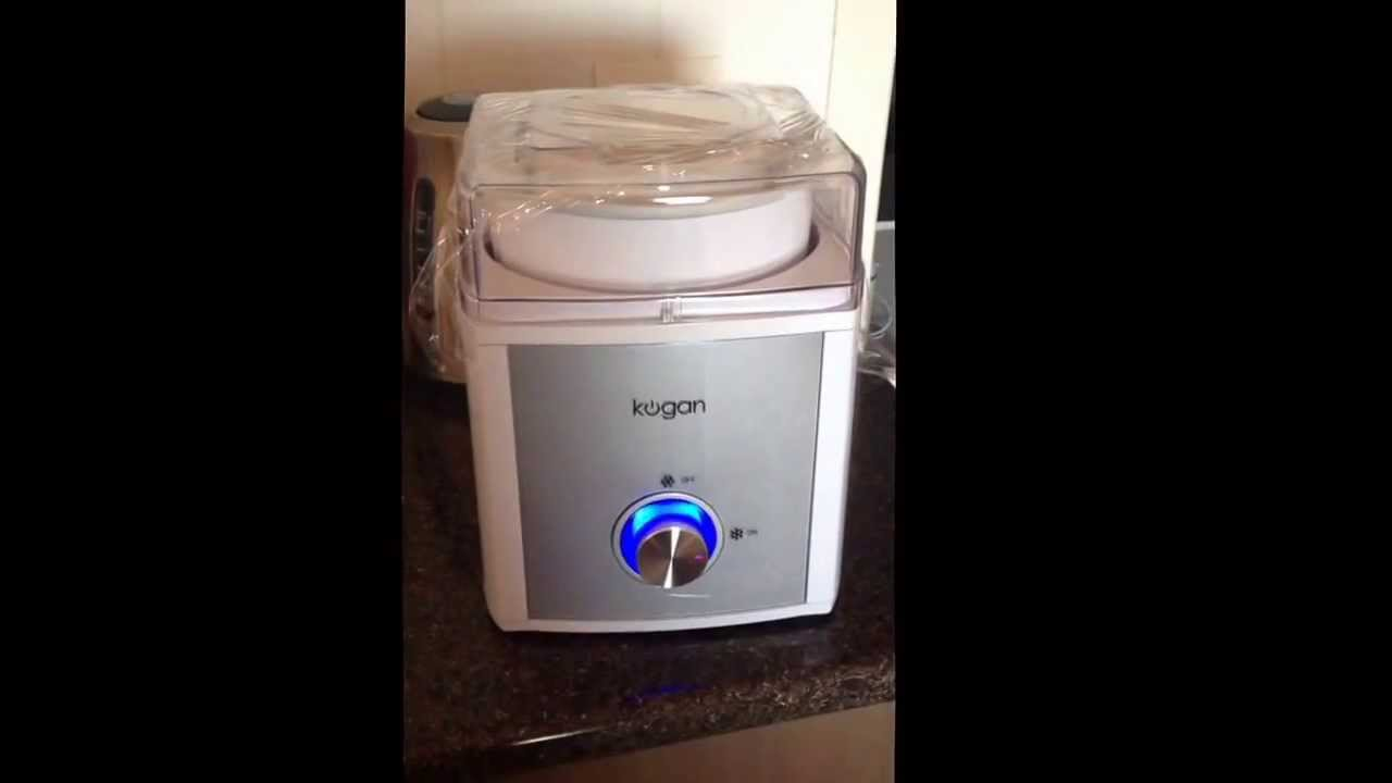 kogan ice cream maker instructions
