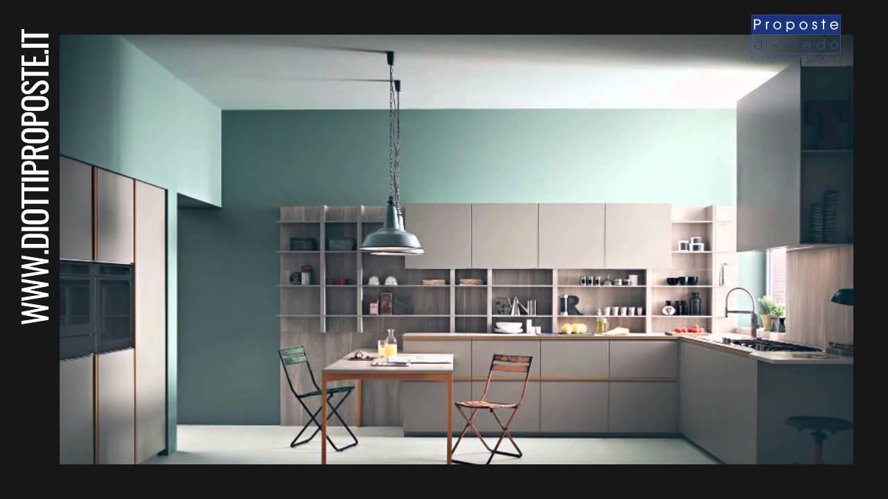Cucina di design Tweet by Zampieri - Diotti Proposte d\'Arredo ...