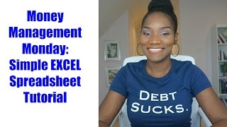Money Management Monday | EXCEL Budget Tutorial | You Need a Budget | FrugalChicLife