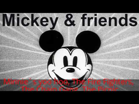 Mickey Mouse Cartoons - (1930) Minnie´s yoo hoo, The Fire Fighters, The Chain Gang, The Picnic