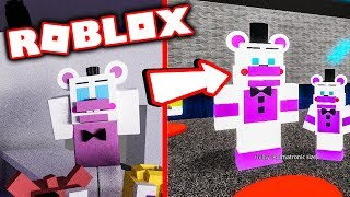 Roblox Fnaf! Playing as Helpy In Animatronic World