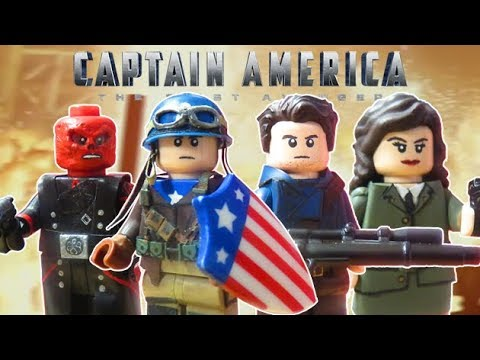Lego Captain America The First Avenger Custom Minifigures