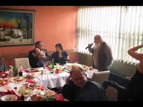 TRICKO BASISTA Krstenje kod Tricka i Aleksandre   LOUIS sa orkestrom Zorana Paunovica