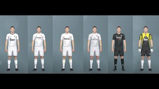 PES 2019 classic Real Madrid kits (PC, PS4) Teka, Siemens, Benq, Fly Emirates and more