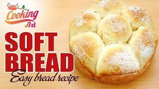 Soft and Fluffy Milk Bread - T…