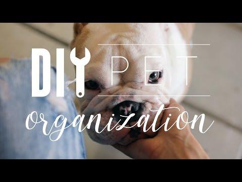 DIY Pet Organization