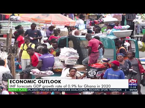 Economic Outlook: IMF forecasts GDP growth rate of 0.9% for Ghana in 2020 (14-10-20)
