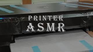 프린터 기계 ASMR 기계멍때리기 HP 7110 Pri…