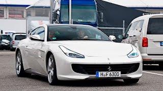 Ferrari GTC4 Lusso V12 - Start Up Sound Rev and in Detail !