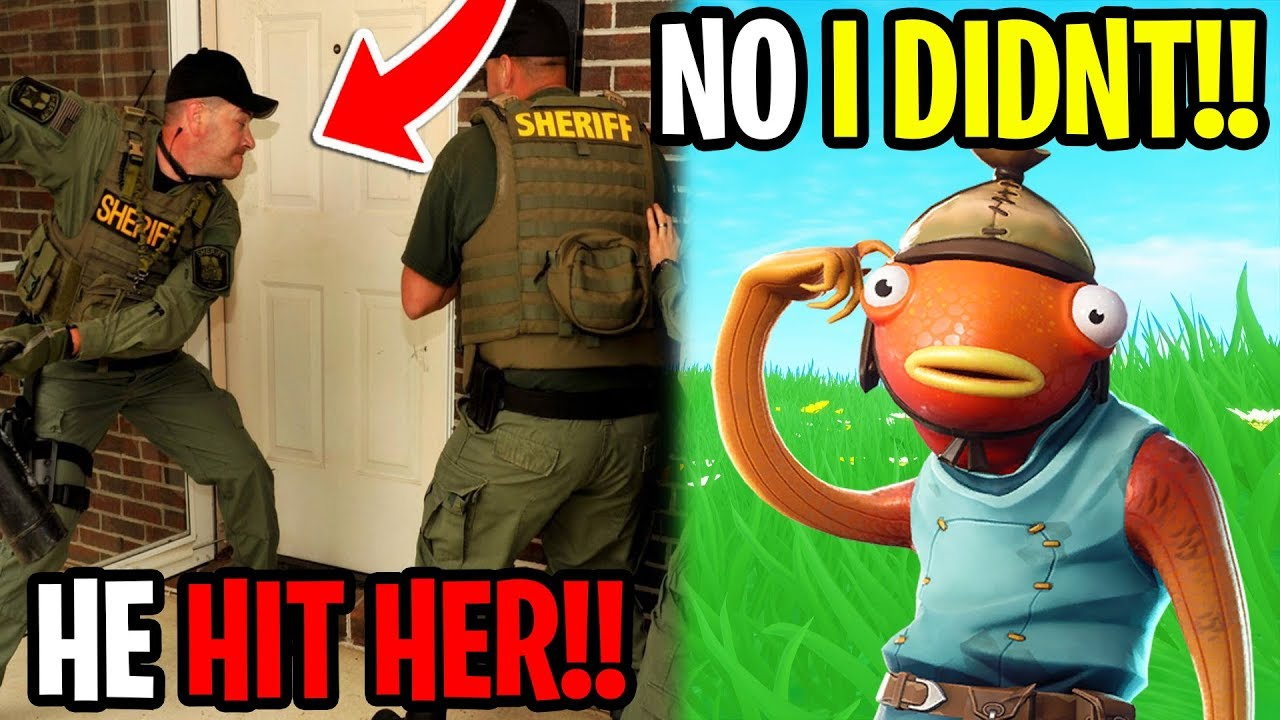 His Little Sisters Boyfriend Called The Cops On Me - Fortnite