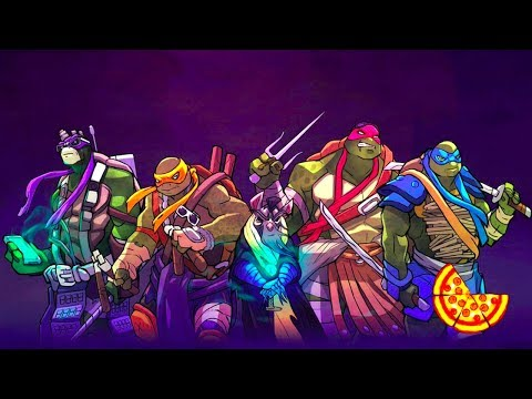 Черепашки ниндзя новая игра на андроид #мистер кекс видео для детей