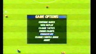 SENSIBLE SOCCER PS1 PLAYSTATION ONE SWOS