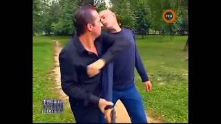 Защита от ножа и пистолета. Юрий Кормушин.