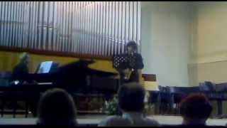 "Darius Mihlaud - ""Scaramouche"" for alto saxophone and orchestra (rid. piano), Op.165 (1937)"