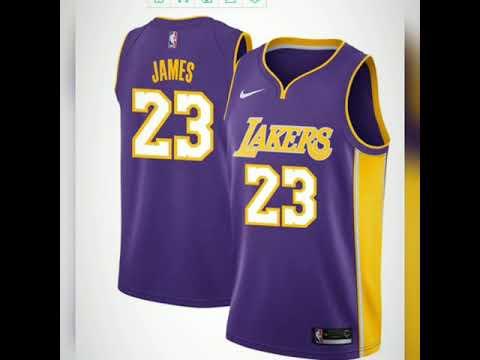 timeless design e757c 816d1 aliexpress cheap basketball jersey 2018 New #23 LeBron James Basketball  Jerseys Lakers