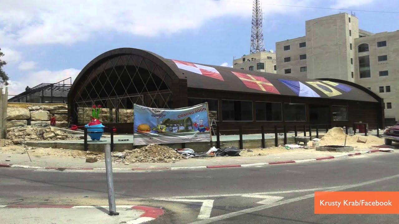 Spongebob Squarepants Krusty Krab Restaurant To Open In Palestine