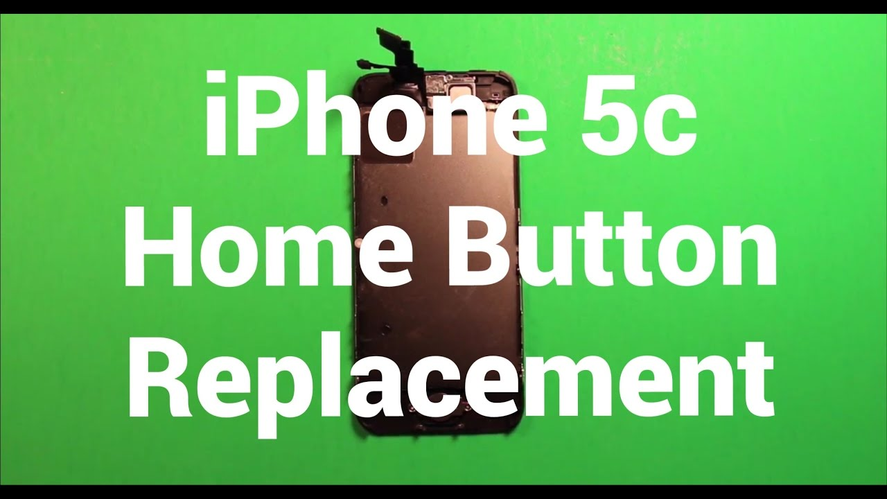 iphone 5c home button not working iphone 5c home button replacement how to change 9081