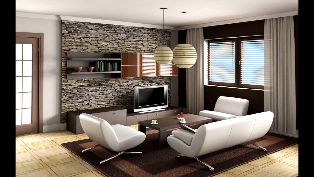 Fancy living room for small apartments interior design
