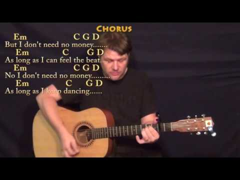 Cheap Thrills (Sia) Strum Guitar Cover Lesson with Chords/Lyrics - Capo 2nd