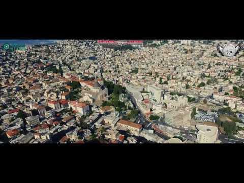 Israel Nazareth Sky View ( Drone )